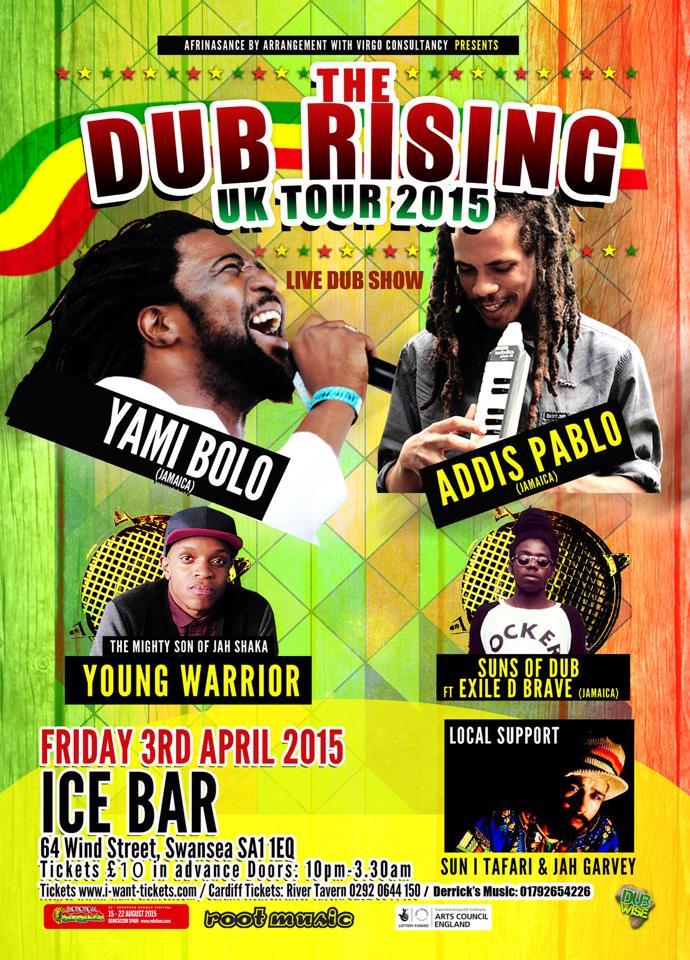 Dub Rising UK Tour
