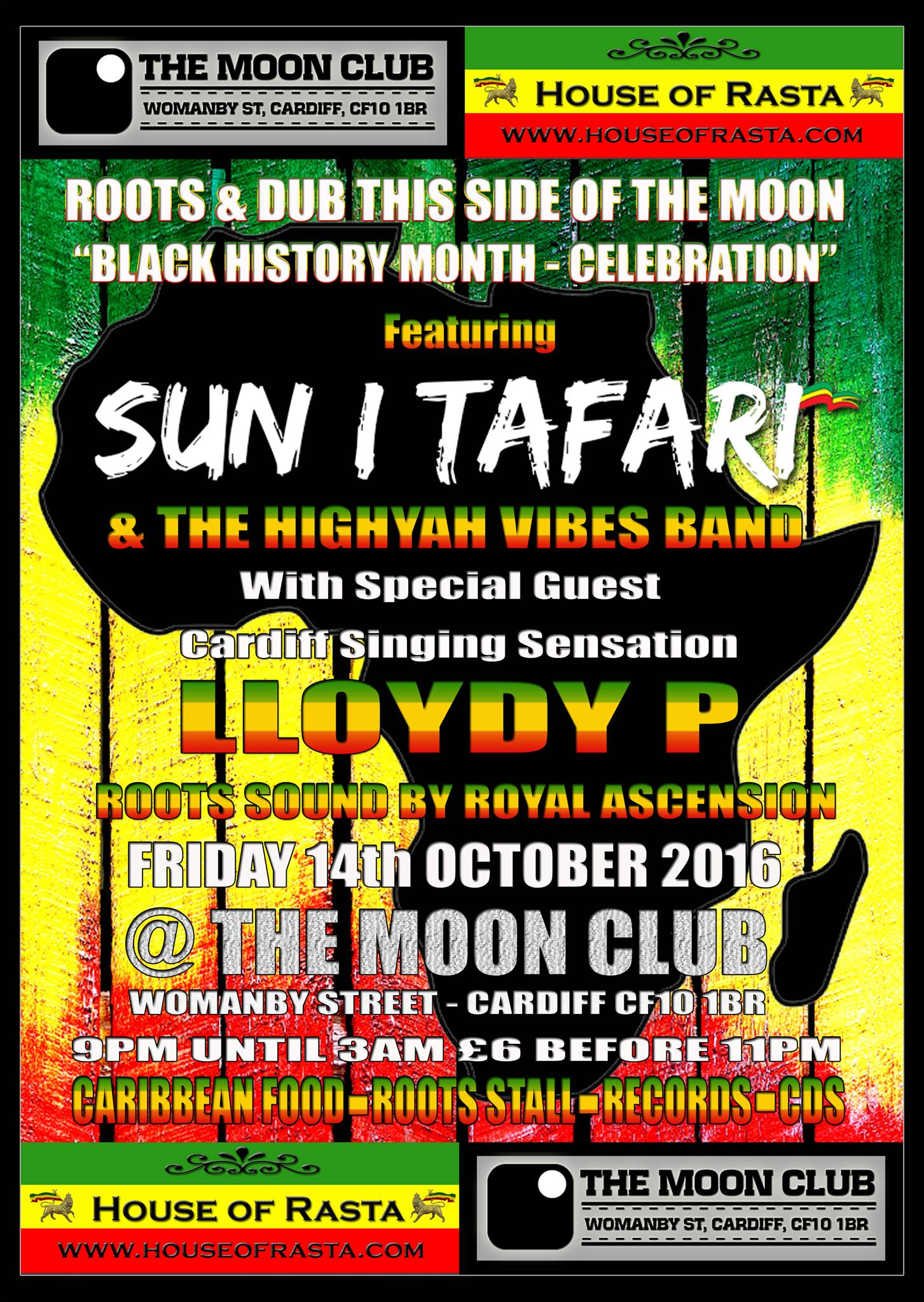 Sun I Tafari Black History Month